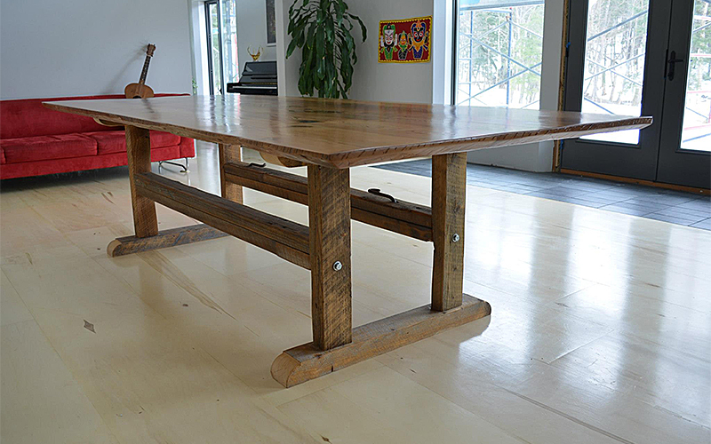 Wooden dinning table