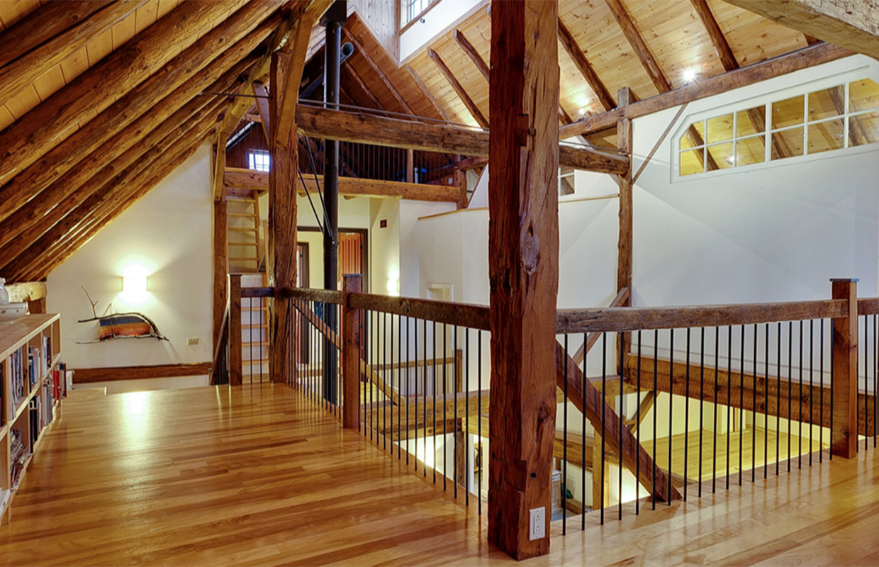 Upstairs of the Barn conversion in Cantley Quebec